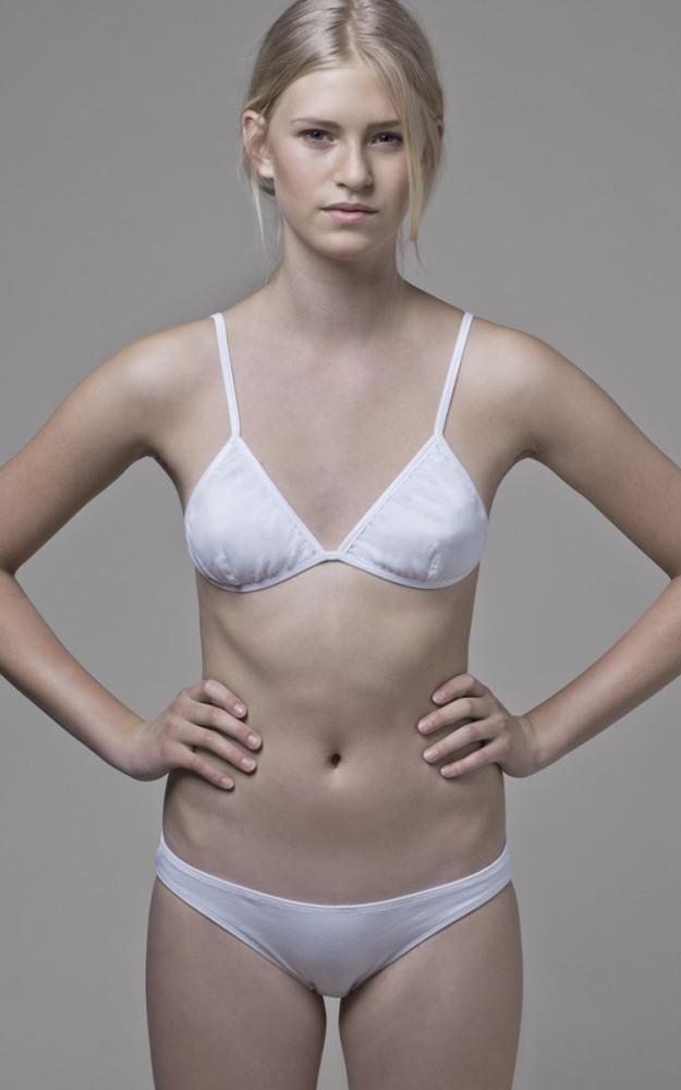 Opinion obvious. White cotton panties rather